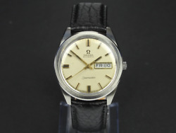 Vintage Omega Seamaster Automatic Gents Wrist Watch 36mm Day Date