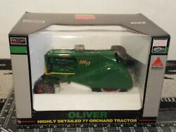Oliver 77 Orchard 1/16 Diecast Farm Tractor Replica Collectible By Speccast