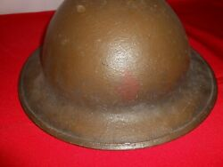 Vintage M1917 Ww1 5th Division Helmet With Liner Aef Doughboy 32a