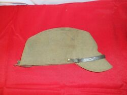 Vintage Ww2 Imperial Japanese Army Military Em Nco And039s Wool Uniform Hat Star 32a