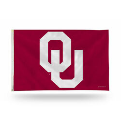 Oklahoma University Sooners Ncaa 3 X 5 Banner Flag With Grommets New In Package