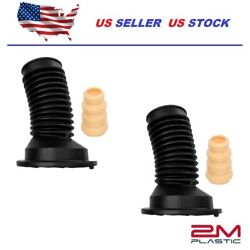 Absorber Strut Boot Bellow Front Set For Toyota Corolla Matrix 03-13 Oem Quality