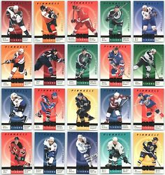 1997-98 Pinnacle Be A Player One Timers Insert Cards - Pick Singles - Finish Set