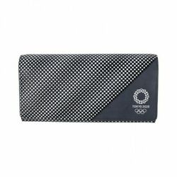 Tokyo 2020 Olympic Koshuinden Lacquered Deerhide Long Wallet Official Goods