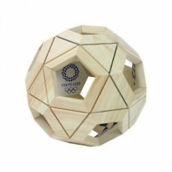 Tokyo 2020 Olympic Game Emblem Soccer Ball Puzzle Official Licensed Goods