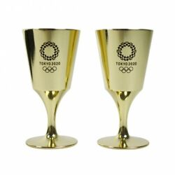 Tokyo 2020 Olympic Takaoka Bronze Casting Toasting Glasses Official Goods