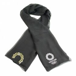 Tokyo 2020 Olympic Kyoto Kuromontsukizome Dyed Scarf Official Licensed Goods