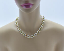 David Yurman 18k And Sterling Silver Madison Chain Silver Cable And Yellow Gold