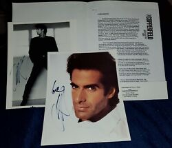The Magic Of David Copperfield Project Magic Promo With Authographs