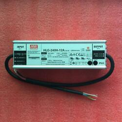 1pcs New Hlg-240h-12a 240w 12v 16a Pfc Constant Current Led Power Supply