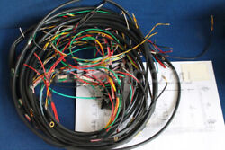 Alfa Romeo Duetto Spider Wiring Harness Set W/ Fuse Box Welded Wires New