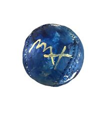 Peter Max Original Painted And Signed Baseball With Peter Max Hologram