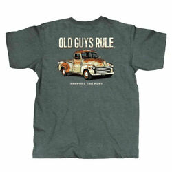 New OLD GUYS RULE T SHIRT  RESPECT THE RUST TRUCK SHIRT