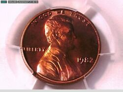 1982 P Lincoln Memorial Cent Pcgs Ms 65 Rd Bronze Large Date 38923559 Video