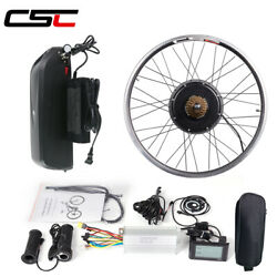 Ebike Conversion Kit 36v 48v 250w-1500w Front And Rear Motor Wheel With Battery