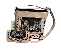 Concealed Carry Purse Matching Wallet Western Country Montana West Crossbody Bag $57.59