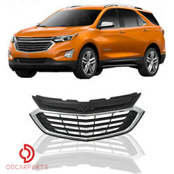 Fits 2018-2021 Chevrolet Equinox Front Upper Grille Chrome Factory