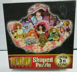 What A Doll 1000 Pc. Shaped Jigsaw Puzzle 3 Feet Long New