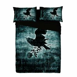Alchemy - Nevermore - Duvet And Pillows Cover Set / Uk King / Us Queen