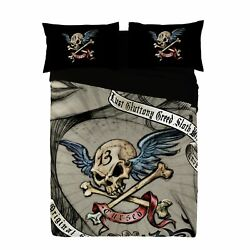 Alchemy - Cursed - Duvet And Pillows Cover Set / Uk Double / Us Twin