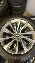 19 Bmw Rims Wheels And Tires Style 595 X5 X6 Oem Factory F15 F16 Original