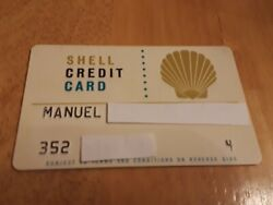 Shell Credit Charge Card Gas Oil Service Station Petroliana Cars Trucks Hot Rods