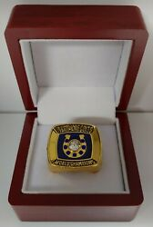 Johnny Unitas - 1970 Baltimore Colts Super Bowl Custom Ring With Wooden Box