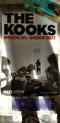 The Kooks Original Promo Poster Inside In Inside Out Large Merchandise