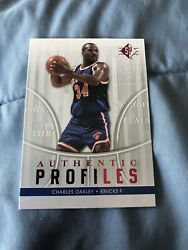 2008 09 SP Authentic Profiles Charles Oakley #AP 1 $3.00