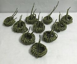 50 Pair Of 48 Oval Shoe Laces - 2 Tone Grey/ Green Duty Hiker