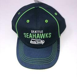 Nwt Seattle Seahawks Throwback Snapback Youth Hat Nfl