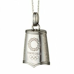 Tokyo 2020 Olympic Games Emblem Eternity Bell Pendant Official Licensed Goods