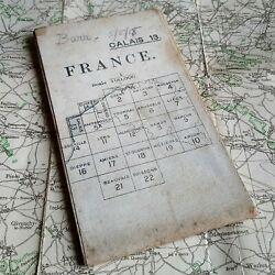 Named 1917 Calais Map Ww1 War British Trench Medal Military Os Wwi Army France