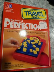 New Vintage 1990 Mb Perfection Game Dexterity Educational Fun Made In Usa
