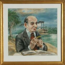 Marshall Goodman, Portrait Of Delesseps Story Morrison In New Orleans, Waterco