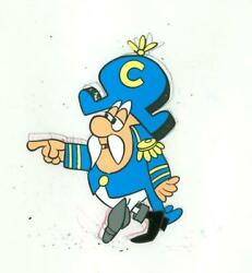 Jay Ward, Untitled - Cap'n Crunch 3, Acetate Cel And Pencil Drawing