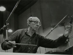 Jules Tannenbaum Aaron Copland from Carnegie Hall Recording Session Something