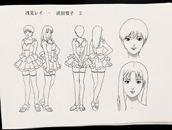 Perfect Blue Japanese Anime Production Settei Character And Layouts 102 Sheets