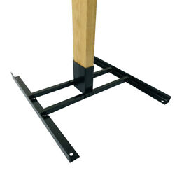 Highwild 2x4 Target Stand Base for AR500 Steel Shooting Targets Double T Shaped