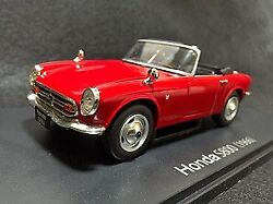 Honda S800 1/24 Retro Vintage Car Collection Toy Car Limited F/s Rare Japan