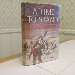 Walter Lord A Time To Stand First Edition Uk Davey Crockett Jim Bowie Alamo Texa