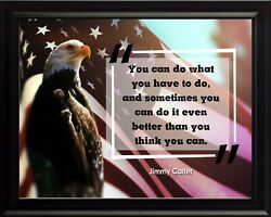 Jimmy Carter You Can Do Poster Print Picture Or Framed Wall Art