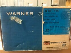 Warner Electric At Clutch Atb-115 1-1/2 Bore 90vdc 5191-170-009