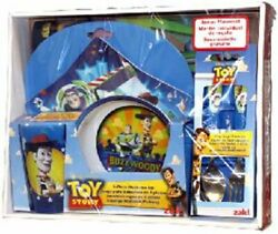 Toy Story Buzz Lightyear And Woody 6pc Dinner Set