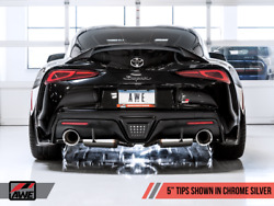 Awe Tuning Downpipe-back Exhaust For Gr Supra A90 Toyota 2020 Touring 3015-32118
