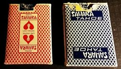 Hotel Sahara Tahoe And Vegas Vintage Bee No 92 Club Special Playing Cards Poker