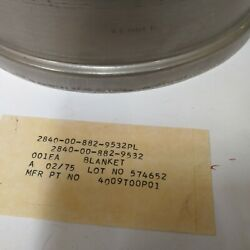 Shield Heat For T64 Engines. Mfr General Electric. P/n 4009t00p01