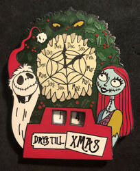 Disney 2013 Nightmare Before Christmas Countdown Jack And Sally Le Pin With Easel