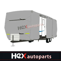 New Waterproof Travel Trailer Rv Cover For Trailer Camper 18and039-38and039ft W/ Zipper