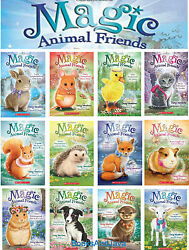 Magic Animal Friends 1-12 Lucy Longwhiskers Gets Lost +daisy Meadows Paperback